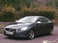 2012/62 VOLVO S60 2.0 D4 R-DESIGN NAV LUX 161bhp AUTO **MEGA SPEC - NOT D5 D3**