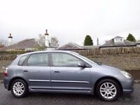 12 MONTH WARRANTY! HONDA CIVIC 1.6 VTEC EXEC AUTO 5dr- Leather- Very Low Mileage- Full Honda History
