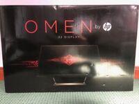 """Gaming Monitor Omen by HP 32"""" Quad HD (QHD) AMD FreeSync"""