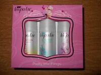 Impulse perfume sprays
