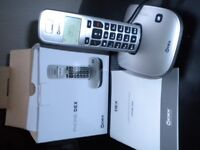 cordless phone - ideal for use with hearing aids