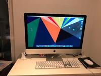 Apple iMac Late 2014 27inch 5k Retina; Core i7 4GHz; 3TB FUSION DRIVE; 4GB AMD GRAPHICS CARD
