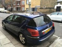 2007 Peugeot 406 Automatic Good Runner with history and long mot
