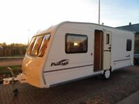 BAILEY PAGEANT BORDEAUX WITH MOVER/AWNING IMMACULATE CONDITION