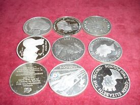 Solid Silver 1oz Coins