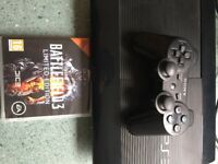 PS3 for Sale + Controller + Battlefield 3 Game