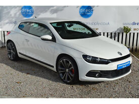 VOLKSWAGEN SCIROCCO Can't get car finance? Bad credit, unemployed? We can help!