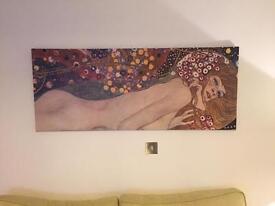 Lovely Klimt canvas print