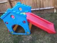 toddler slide cube
