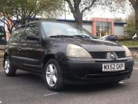2003 RENAULT CLIO 1.2 *5 DR *MOT *JUST 57K MILES *IDEAL 1ST CAR *CHEAP INSURANCE *PX * DELIVERY