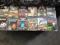 For sale 12 Top Gear DVD's