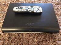 Sky hd box and control
