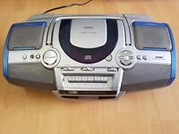 Goodmans portable CD, Radio and Tape player 6 Speaker Boombox