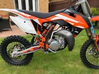KTM 85SX 2016 race tuned immaculate condition
