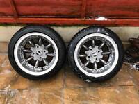 """4x Ultralite 13"""" x7 Classic Mini Wheels (Like New)"""