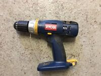 Ryobi 18V Combi Drill with 2.4ah Li-ion Battery, Case and charger