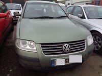 BREAKING - Volkswagen Passat SE TDI 1.9L Diesel 130BHP ------2001