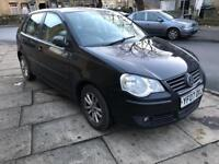 VW POLO, 1.4 TDI, 5 DOOR, LONG MOT, 1 LADY OWNER, CHEAP TAX,
