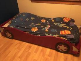 Child's Race Car Bed