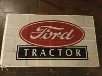 Ford Ferguson tractors dexta major county Muirhill roadless workshop flag banner