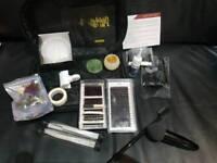 Eyelashes kit with equipment new