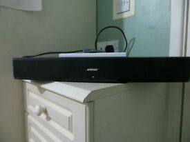 BOSE solo TV sound system - Black - excellent condition. Model code 410376