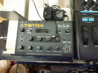 dave smith tetra synth module manaul and power supply