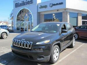 2014 Jeep Cherokee S Sport | LOW KM | UCONNECT | STEERING WHEEL