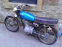 1977 Honda CG 125 (spares or repair barn find )