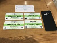 4 goodwood festival of speed tickets