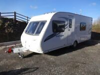 Sterling Europa 550 2011 4 berth, Fixed Bed, Motor Mover, Excellent Condition, can be sited ANGLESEY