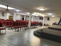 D1/F1 CHURCH AND CONFERENCE CENTRE - SOLE USE £6000 - TAILORED REGULAR USE £1500