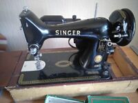 Singer 99K electric sewing machine and workstation