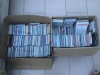2 boxes of CDs job Lot various artists