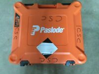 Paslode cordless first fix nailer.