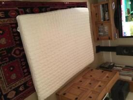Dorma King size Tencel Blend Memory Foam Mattress Topper