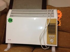 Electric heaters £10