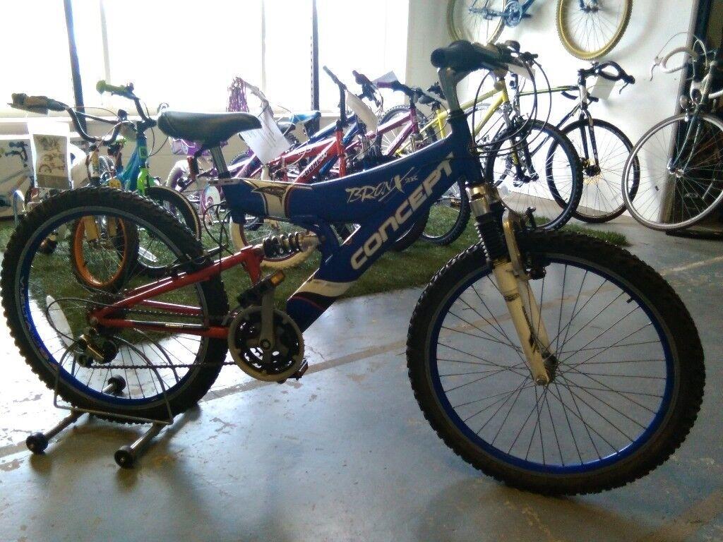 older childs concept bronx 2k bike 24 inch wheels 21 speed full