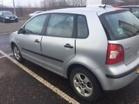 VOLKSWAGEN POLO 2003 5DR FULL YEAR MOT EXCELLENT CONDITION