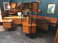 Ladderax Style Corner Unit by Avalon. Retro Vintage Mid Century