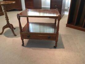 Classic Mahogany Small Rectangular Side Table