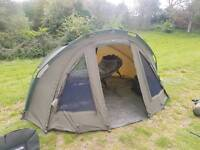 Advanta protector 2man bivvy with overwrap heavy duty ground sheet and pegs