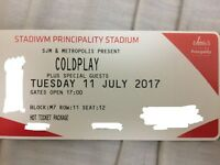Coldplay Concert Cardiff VIP Tickets