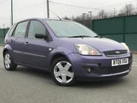 2006 FORD FIESTA 1.2 ZETEC 5 DOOR * ALLOYS * 8 SERVICE STAMPS * LONG MOT * P/X * DELIVERY