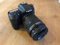 Canon 70d with 18-135mm Lens BOXED