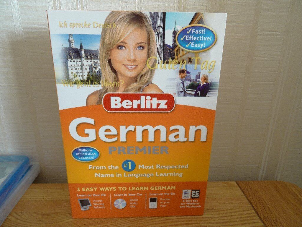 Learn German For PC & Mac (Never Opened)