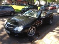 Mercedes SL500 Lightly Modified