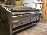 Archway Charcoal Grill Long Classic 3 Burner Long Shape With Lavarock
