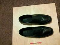 Mens leather shoes size 16
