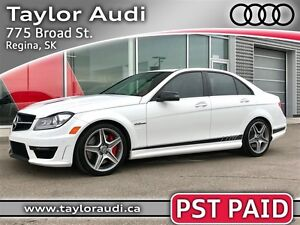2014 Mercedes-Benz C-Class C63 AMG Edition 507, PST PAID, 2 SETS